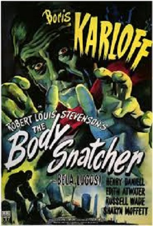 Body Snatcher 1945 poster
