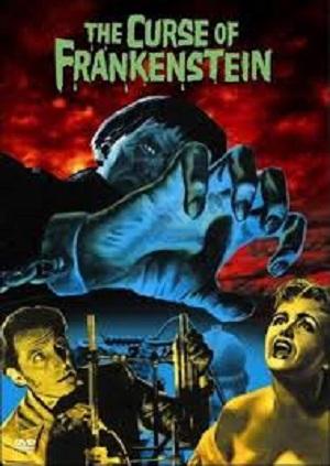 Curse of Frankenstein 1957 poster