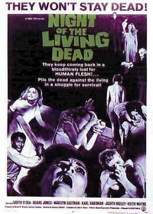 Night of the Living Dead 1968 Poster