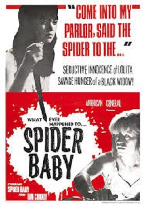 Spider Baby 1964 poster