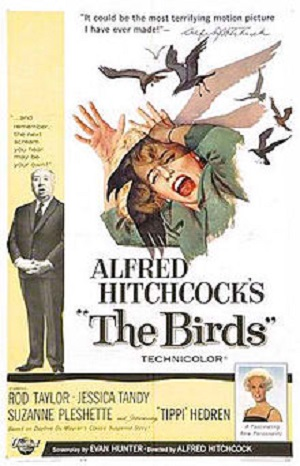 The Birds 1963 poster