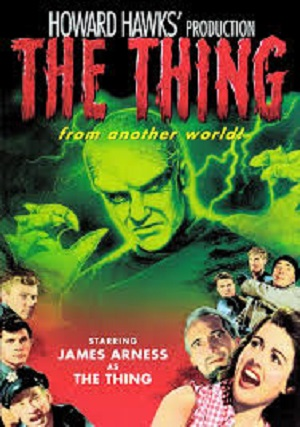 Thing From Another World 1951 poster